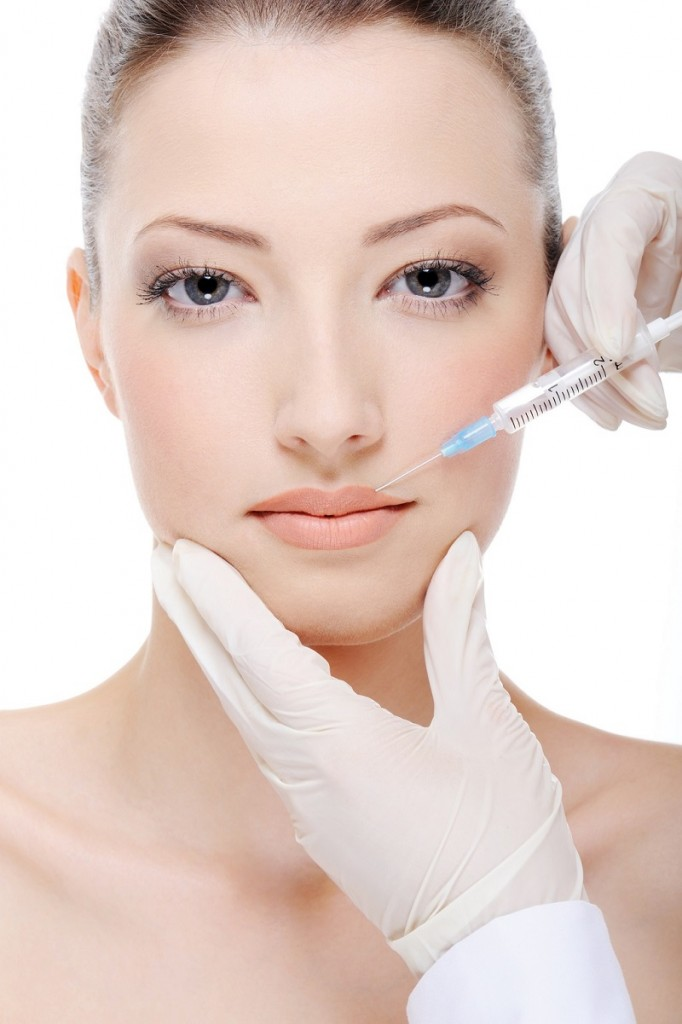 wstrzykiwanie botoksu w usta